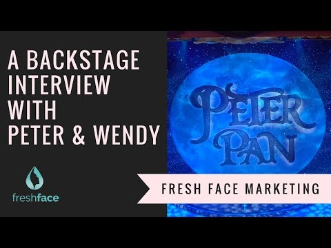 An interview with Peter and Wendy | Peter Pan Pantomime 2017/2018