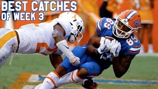 Best Catches of Week 3 | College Football Highlights 2017