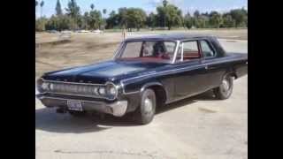 1964 DODGE 330 FACTORY LIGHTWEIGHT MAX WEDGE SUPER STOCK