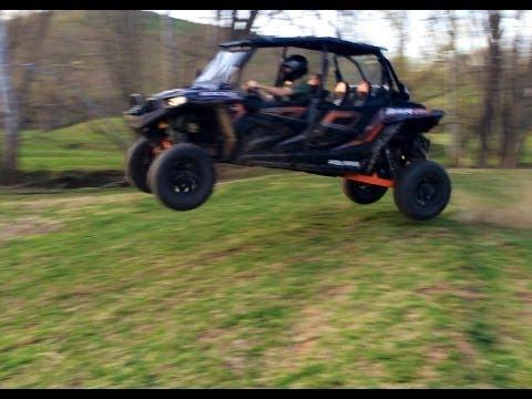2014 Polaris Rzr 4 Xp 1000 Jumping Full Suspension