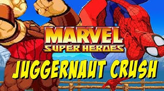 JUGGERNAUT CRUSH: Marvel Super Heroes (Online Matches)