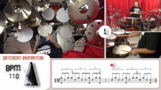 Different Inspiration - Video 2 - Primo Funky Paradiddle Groove
