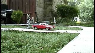Garden Trains: Magnetically Steered Vehicle Navigating System