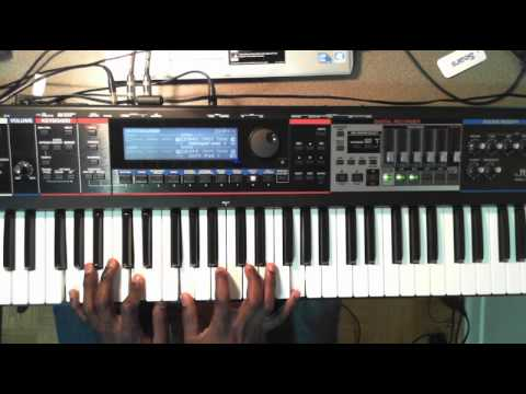 Israel Houghton Jesus At The Center Piano Solo Youtube