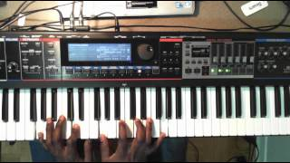 Israel Houghton- Jesus At The Center (Piano Solo)