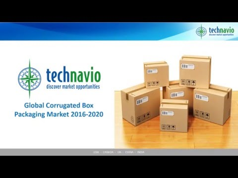 Global Corrugated Box Packaging Market 2016-2020