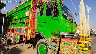 Full Review Of UD Nissan Pkd 411   Pakistani Truck Art   Beautifull Truck Full Video