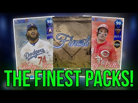 THE SHOWS FINEST PACK OPENING - MLB 17 The Show Diamond Dynasty