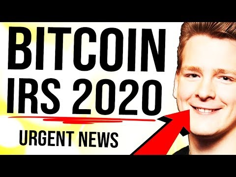 BITCOIN 2020 IRS URGENT GUIDANCE 🚨 All HODLers Need to See This...