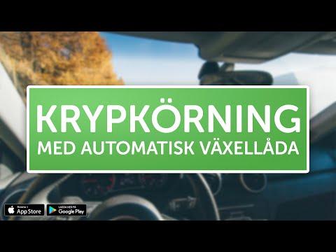 ÖVNINGSKÖR - Krypkörning med automatisk växellåda