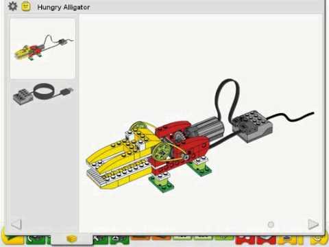 Lego Wedo Activities Alligator Youtube