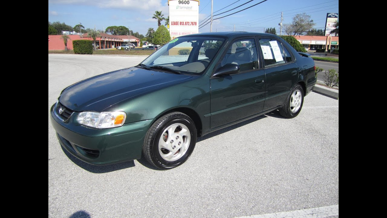 2012 Toyota Corolla For Sale >> SOLD 2001 Toyota Corolla LE 91K Miles Meticulous Motors ...