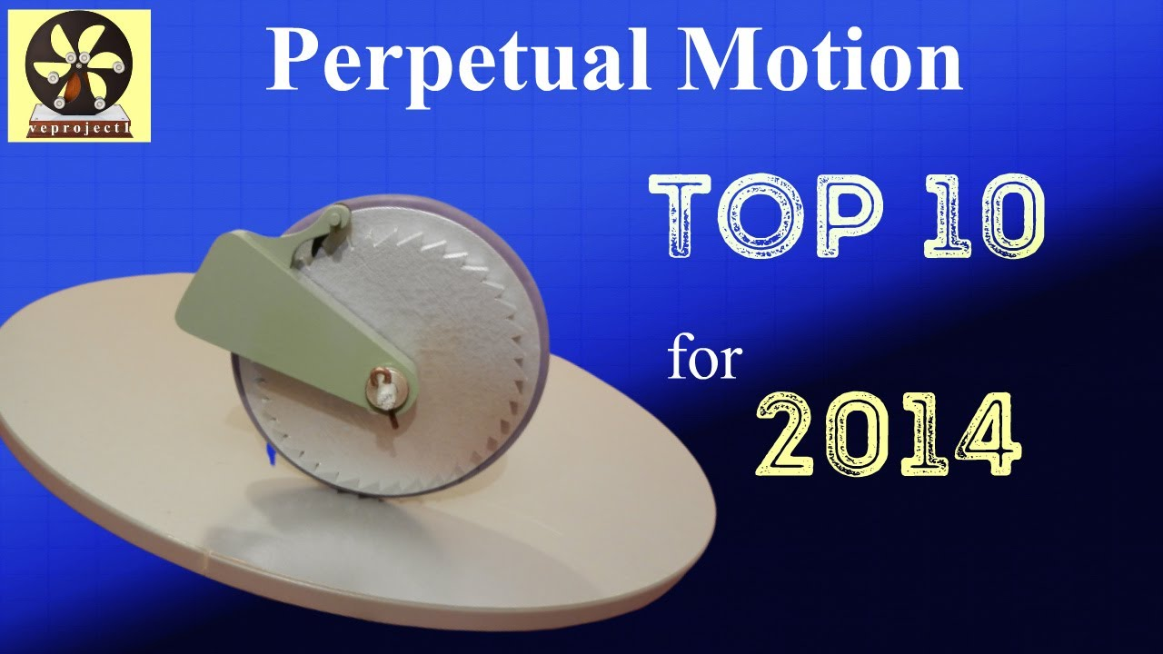 Top 10 Perpetual Motion Machines for 2014 - YouTube
