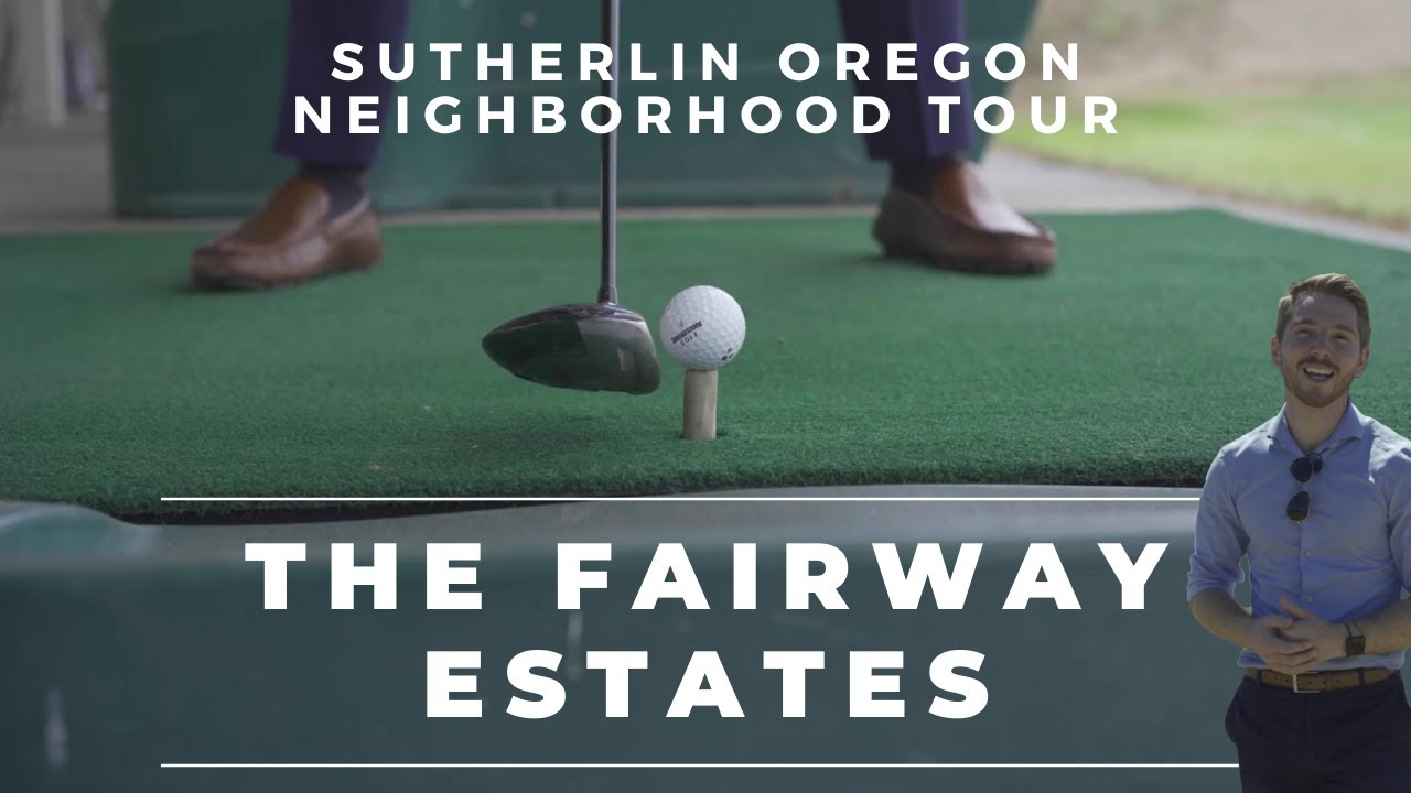 ⛳ The Fairway Estates Neighborhood Tour | Sutherlin Oregon Homes For Sale