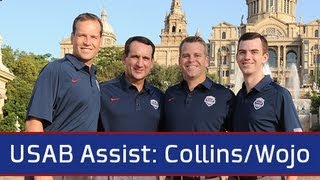 USAB Assist: Coach Wojo & Coach Collins