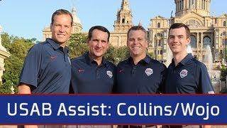 USAB Assist: Coach Wojo & Coach Collins