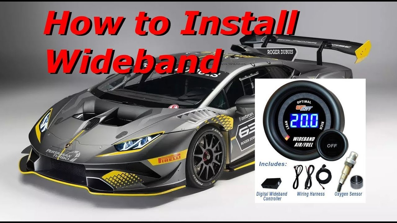 How to Install a Wideband O2 AFR Controller