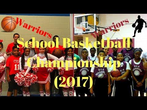 2017 School Basketball Championship (Calvary Temple Christian Academy Vs Blair Christian Academy