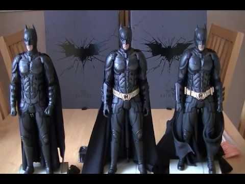 Hot Toys DX12 Batman Modification Job