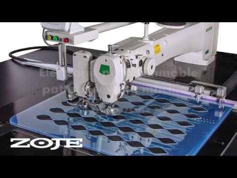 Electronic Programmable Pattern Sewing Machine ZOJE ZJAM40AHK Magnificent Juki Ams224e Programmable Sewing Machine