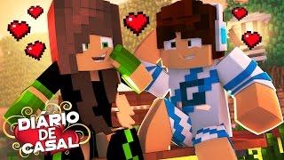 O PRIMEIRO BEIJO - DIÁRIO DE CASAL #1 ‹ Minecraft Machinima ›