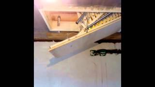 Электро люк с пульта. Италия(Электро люк. Италия. электро лестница., 2015-10-21T17:57:41.000Z)