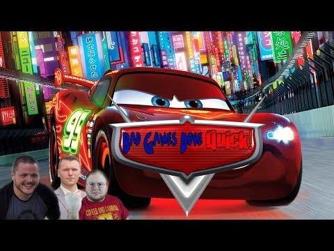 Bad Games Done Quick | Cars 2: The Movie: The Game | KER-CHOWW!