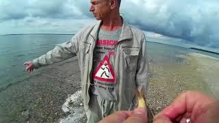 Рыбалка в Калининградском заливе на мечте.