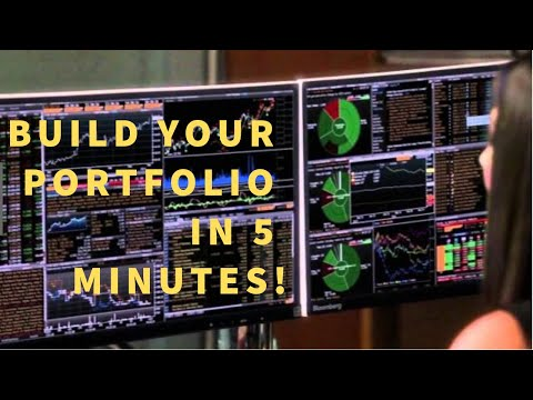 Investing with Bloomberg 1 - Building a Portfolio of Stocks