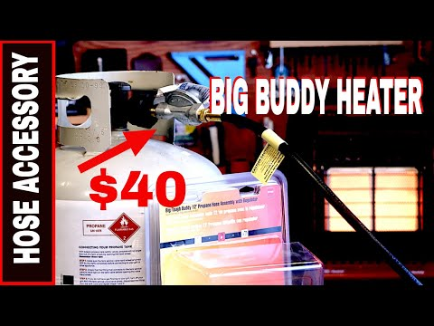 Mr Heater Big Buddy with 12' Heater Hose Accessory Kit # F271803 -Is It Worth Buying??