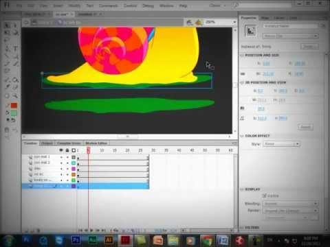 Tạo chuyển động trong Adobe Flash