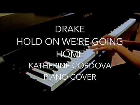 Drake - Hold On We\'re Going Home (HQ piano cover) - YouTube