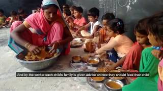 Solving Child Malnutrition - Integrated Child Development Service - Government Of Madhya Pradesh