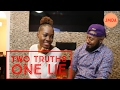 TWO TRUTHS ONE LIE CHALLENGE || ARE MEN BETTER LIARS THAN WOMEN?