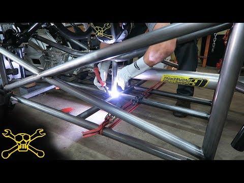 Tube Chassis Frame Fabrication | Custom Hot Rod Build Bibbster