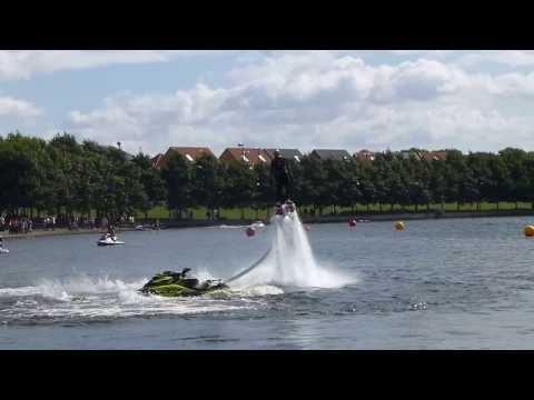 FLYBOARD Jet-Board + Jet Ski - European Jet Ski Championships Round 3 2013 @ Lakeside Doncaster (1)
