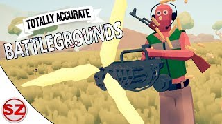 Totally Accurate Battlegrounds - Połączenie PUBG i TABS? Parodia Battle Royale