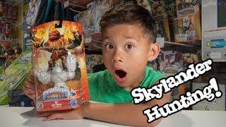Skylander Hunting!  GLITTER  PEARL HOT HEAD at Walmart!!!!