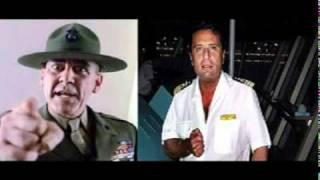 Capitano Schettino VS Sergente Hartman - Naufragio Costa Concordia