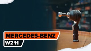 Cómo cambiar Tubo flexible de frenos MERCEDES-BENZ E-CLASS (W211) - vídeo guía