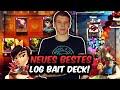 NEUES LOG BAIT DECK PLÖTZLICH ZU STARK?! | GEGNER KOMPLETT ÜBERFORDERT! | Clash Royale Deutsch
