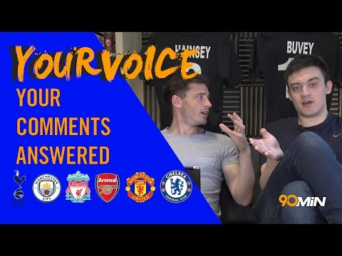 Arsenal are hanging by a thread! | Can Leicester do it v Atletico? John Terry to Man City? YourVoice