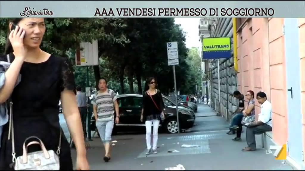 Aaa vendesi permesso di soggiorno youtube for Permesso di soggiorno convivenza more uxorio
