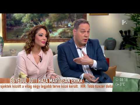 Marozsán Erika: ˝New Yorkban főállású anya vagyok˝  tv2.humokka