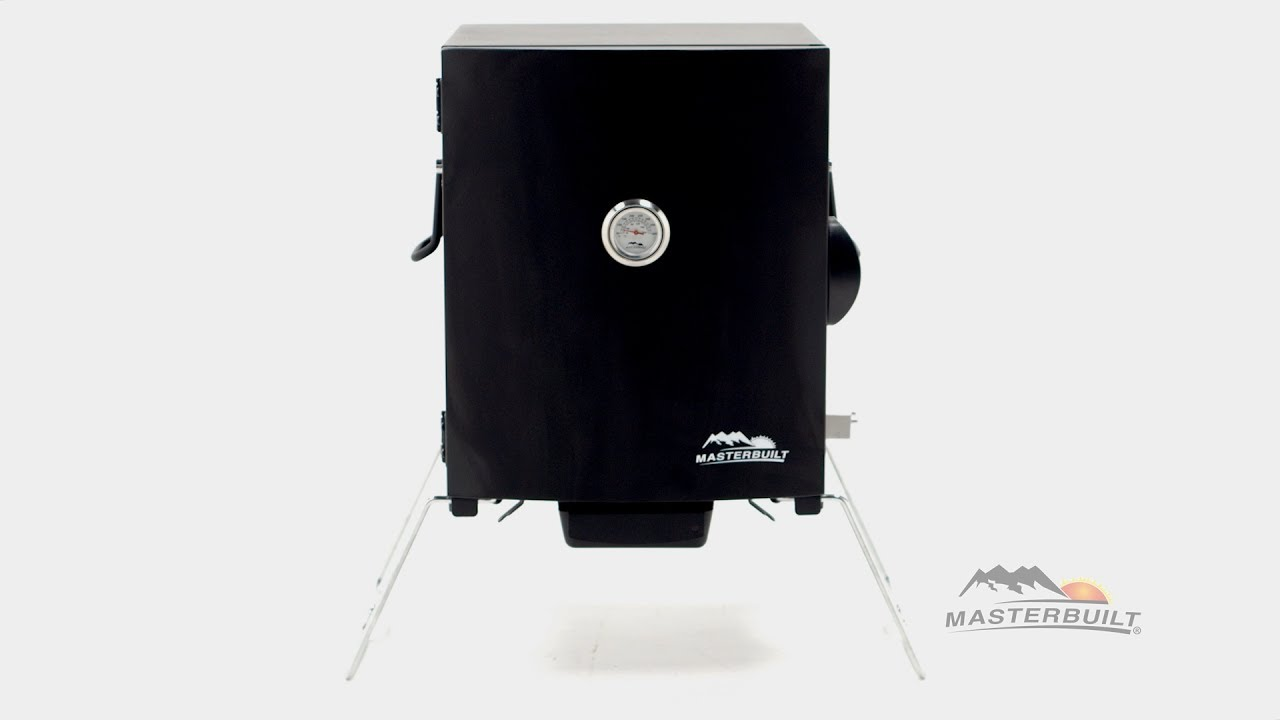 masterbuilt portable electric smoker features