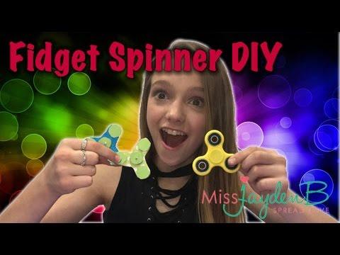 Fidget Spinner DIY