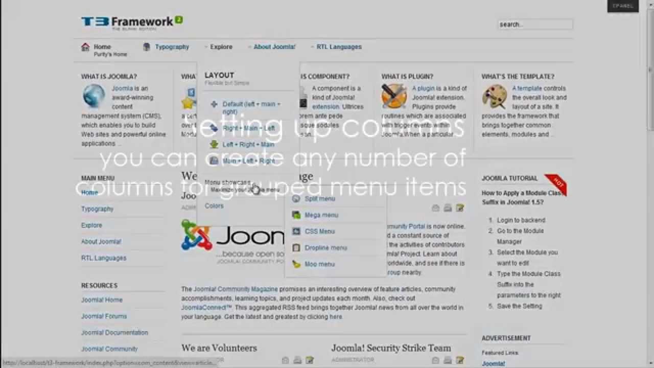 plugin jat3 framework