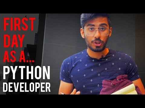 My First Day as a Python Developer (How it all started)