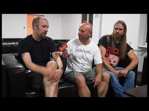 Bloodbath Interview Hard n Heavy MK Macedonian TV Show 26 07 2017 Metaldays