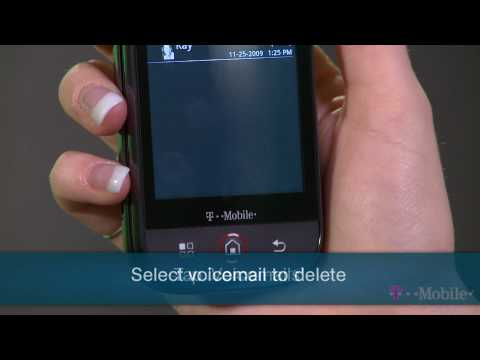 Deleting A Visual Voicemail